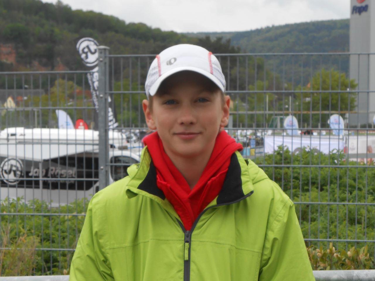 TV Schweinheim Leichtathletik - Jonathan Busch beim 2. Miltenberger Duathlon