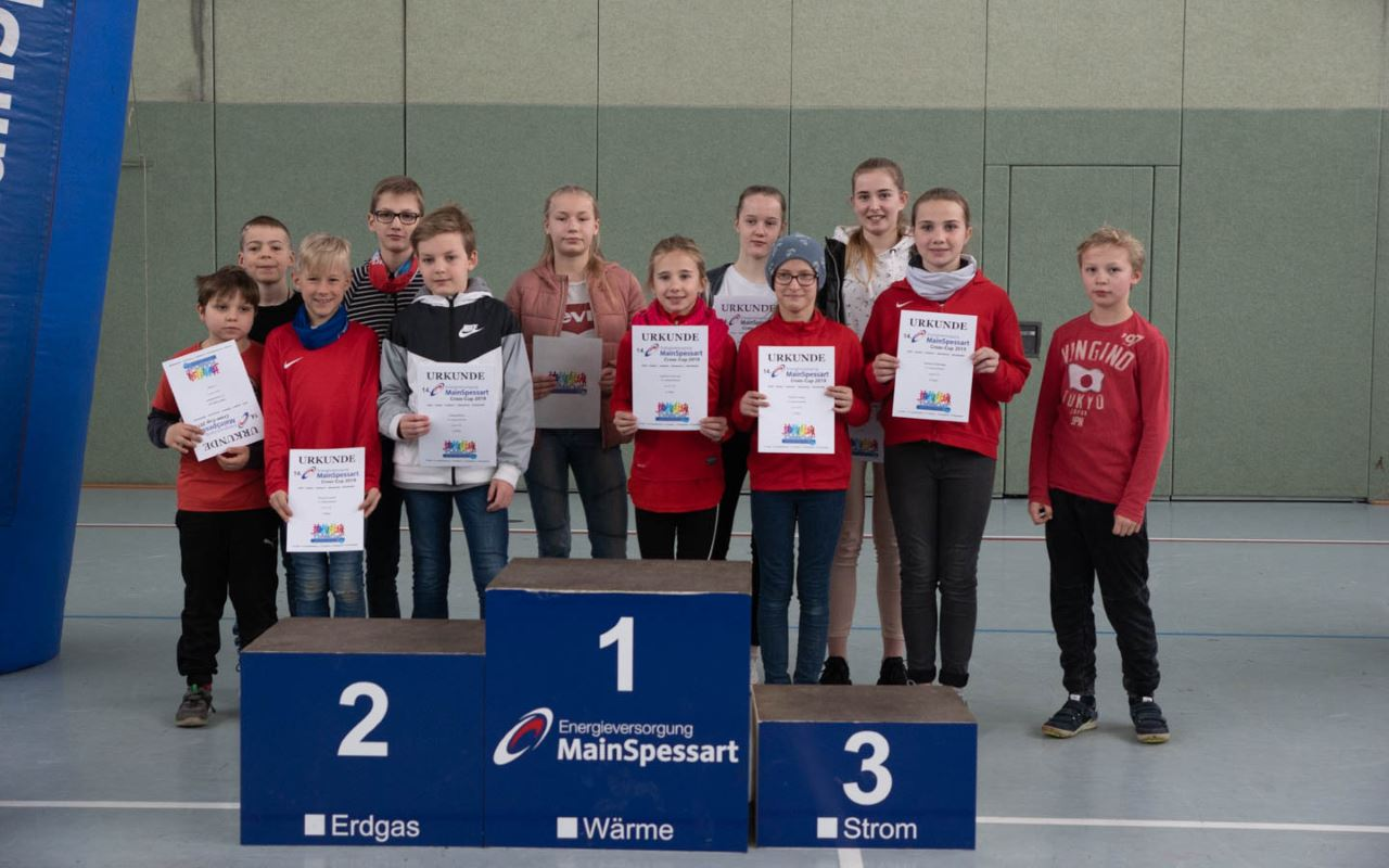 TV Schweinheim Leichtathletik Siegerehrung Cross-Cup 2019