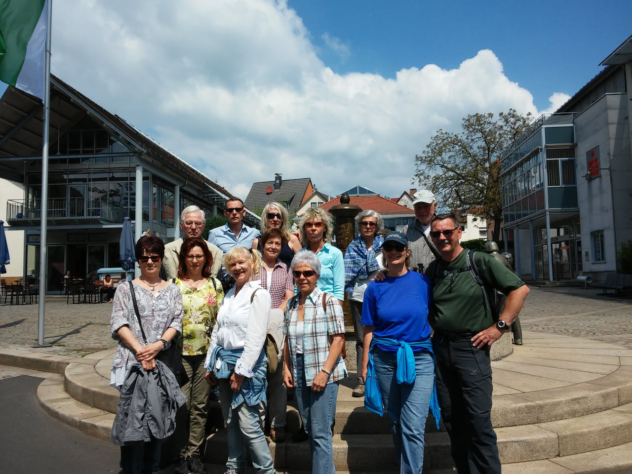 TV Schweinheim beim Gauwandertag 2017 in Hösbach