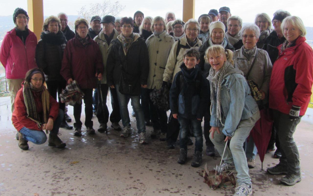 Herbstausflug 2017 der Lauftreffgruppe vom TV Schweinheim