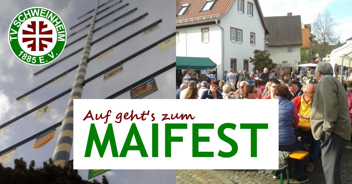Auf geht's zum Maifest - TV Schweinheim